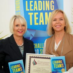 Leading Teams wins International Book Award
